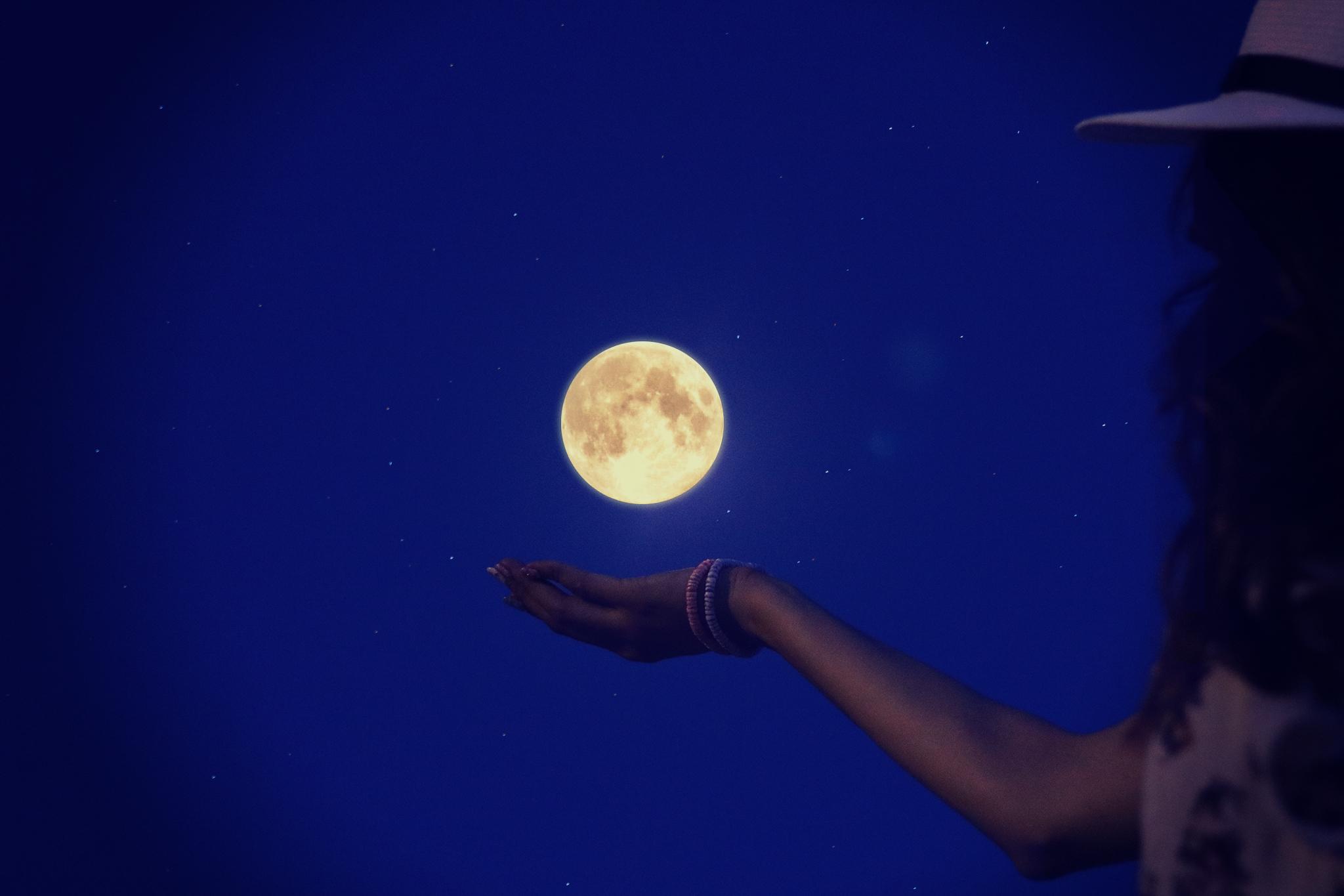 サードメディスン・タイプ別 きょうの満月の過ごし方